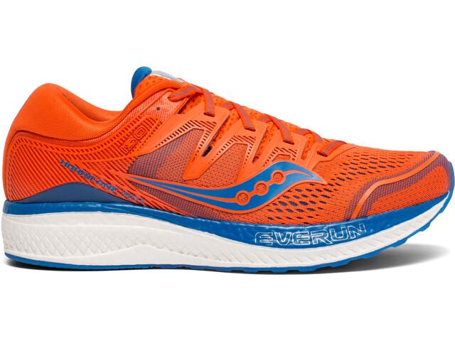 saucony Hurricane ISO 5 Sko Herrer, orange/blue